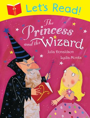 Book cover for Let's Read! The Princess and the Wizard